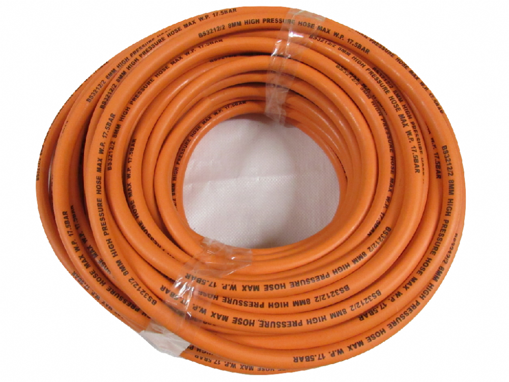 5 Metres of 8MM LPG Gas Hose Pipe | SecureFix Direct